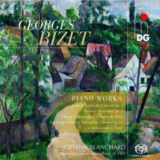 Bizet, Georges: Piano Works - Blanchard, Johann - piano