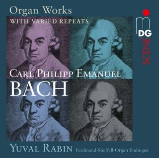 Bach, Carl Philipp Emanuel: Organ Works with varied repeats - Rabin, Yuval