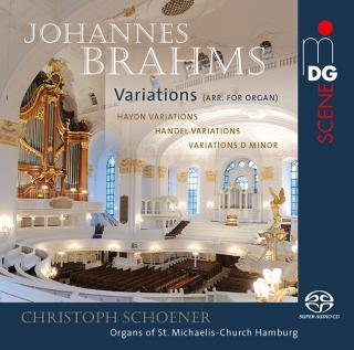 Brahms, Johannes: Variations (arr. for organ) - Schoener, Christoph - organs of St. Michaelis Church, Hamburg