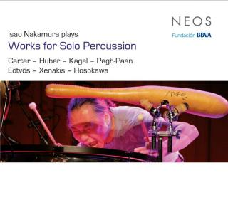 Isao Nakamura plays Works for Solo Percussion - Nakamura, Isao - percussion