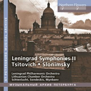 Leningrad Symphonies II - Leningrad Philharmonic Orchestra / Lithuanian Chamber Orchestra