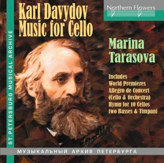 Davydov, Karl: Music for Cello - Tarasova, Marina (cello)