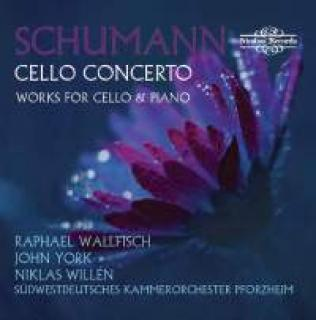 Schumann, Robert: Cellokonsert & Musikk For Cello - Wallfisch, Raphael (cello)