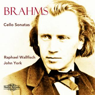Brahms, Johannes: Cello Sonatas - Wallfisch, Raphael (cello) / York, John (piano)