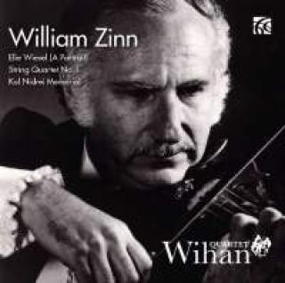 Zinn, William: Musikk For Strykekvartett - Wihan Quartet