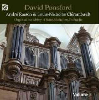 Fransk Orgelmusikk - Volum 3 - Ponsford, David (orgel)