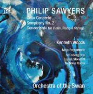 Sawyers, Philip: Cello Concerto & Symphony No. 2 - Woods, Kenneth