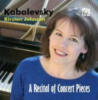 Kabalevsky, Dmitry: A Recital Of Concert Pieces - Johnson, Kirsten (piano)