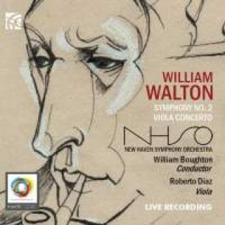 Walton, William: Symfoni nr. 2 & Bratsjkonsert - Boughton, William