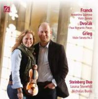 Franck, Dvorak & Grieg - Works for Violin & Piano - Steinberg Duo
