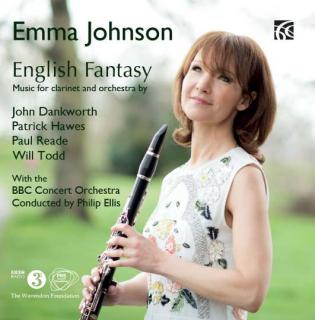Emma Johnson - English Fantasy - Music for Clarinet & Orchestra - Johnson, Emma