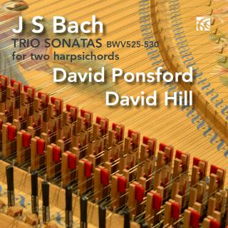 Bach, Johann Sebastian: Six Trio Sonatas Arranged for Two Harpsichords - Ponsford, David / Hill, David (harpsichords)