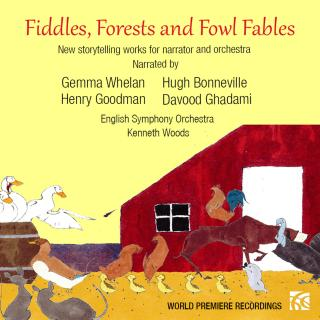Fiddles, Forests and Fowl Fables (In English) - Narrators (in English) / English Symphony Orchestra / Woods, Kenneth