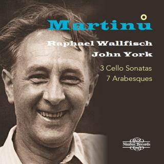 Martinu: 3 Cello Sonatas - 7 Arabesques