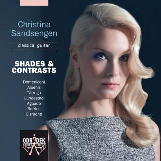 Shades & Contrasts - Guitar Music By Domeniconi, Tarrega, Albeniz, Barrios - Sandsengen, Christina
