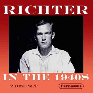 Sviatoslav Richter - Richter in the 1940s - Richter, Sviatoslav - piano
