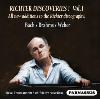 Sviatoslav Richter – Discoveries Vol. I - Richter, Sviatoslav – piano