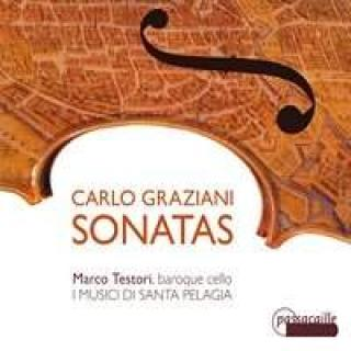Graziani, Carlo: Cellosonater - Testori, Marco (baroque cello)