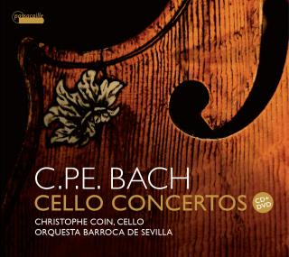 Bach, Carl Philipp Emanuel: Cello Concertos - Coin, Christophe (cello)