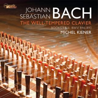 Bach, Johann Sebastian: The Well-Tempered Clavier - Kiener, Michel (piano)