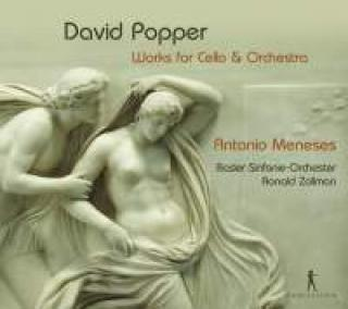 Popper, David: Musikk for cello & orkester - Meneses, Antonio