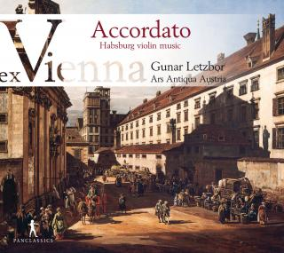 Accordate - ex Vienna Volume III: Habsburg Violin Music from Manuscript XIV 726 of the Minoritenkonvent in Vienna - Letzbor, Gunar
