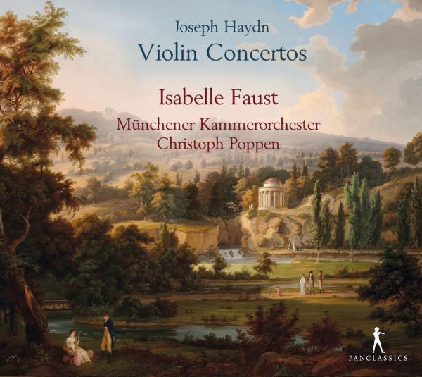 Haydn, Joseph: Violin Concertos <span>-</span> Faust, Isabelle
