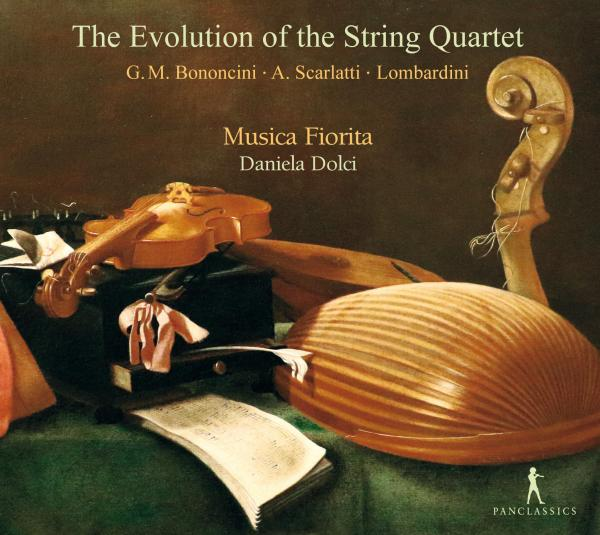 The Evolution of the String Quartet <span>-</span> Musica Fiorita / Dolci, Daniela