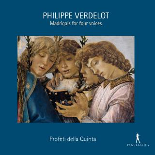 Verdelot, Philippe: Madrigals for four voices - Profeti della Quinta / Rotem, Elam