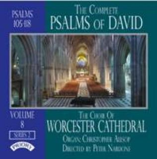 The Complete Psalms of David Series Two, Volume 8 - Worcester Cathedral Choir