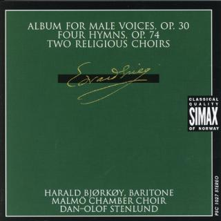 Grieg Album For Male Voices - Bjørkøy, Harald/Malmø kammerkor