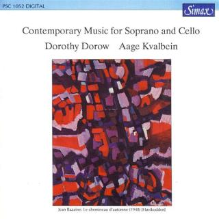 Cello & Soprano - Kvalbein, Aage / Dorow, Dorothy