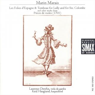 Marais Music For Gamba - Haugsand, Ketil/Dreyfus, Laurence