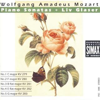 Mozart Piano Sonatas Vol 1 - Glaser, Liv