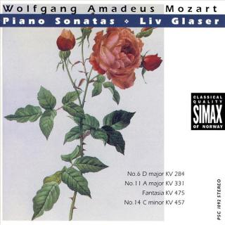 Mozart Piano Sonatas Vol 2 - Glaser, Liv