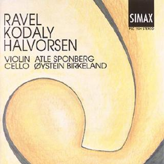 Music For Violin And Cello - Sponberg, Atle/Birkeland, Øystein