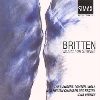 Britten Music For Strings - Tomter, Lars Anders / Det Norske Kammerorkester / Brown, Iona