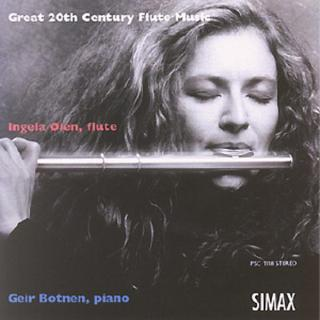 Great 20th Century Flute Music - Øien, Ingela / Botnen, Geir