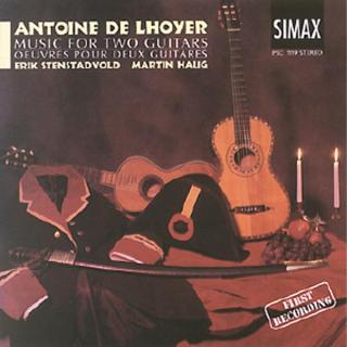 Delhoyer: Music For 2 Guitars - Stenstadvold, Erik/Haug, Martin
