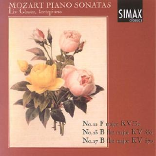 Mozart Piano Sonatas Vol 4 - Glaser, Liv