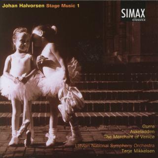Halvorsen Music For The Stage 1 - Latvian National Symphony Orchestra/Mikkelsen, Terje