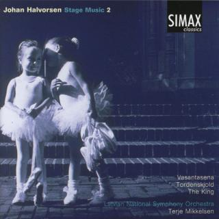 Halvorsen Music For The Stage 2 - Latvian National Symphony Orchestra/Mikkelsen, Terje