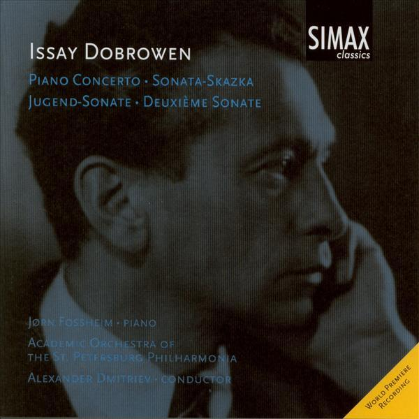 Dobrowen Piano Conerto And Sonatas <span>-</span> Fossheim, Jørn/St Petersburgh Philharmonic Orchestra