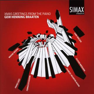 X-Mas Greetings From The Piano - Braaten, Geir Henning