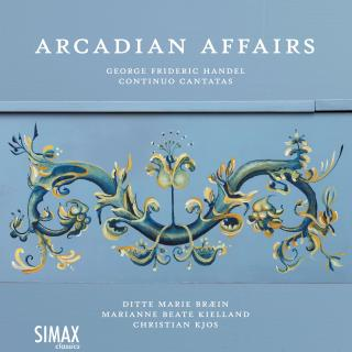 Arcadian Affairs - Continuo Cantatas - Bræin, Ditte Marie / Kielland, Marianne Beate / Kjos, Christian (cembalo)