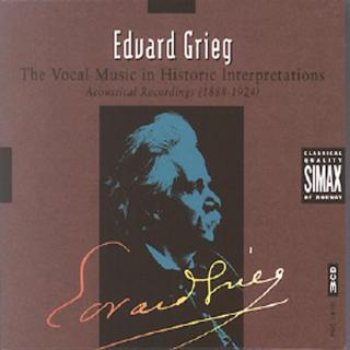 Grieg-Vocal Music In Historic -