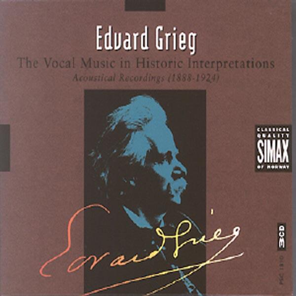 Grieg-Vocal Music In Historic <span>-</span>