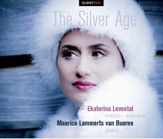 The Silver Age – Songs by Rachmaninov, Tchaikovsky & Mussorgsky - Levental, Ekaterina – mezzo soprano | Bueren, Maurice Lammerts van - piano