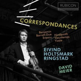 Correspondances - Works for viola - Ringstad, Eivind Holstmark (bratsj) / Meier, David (piano)