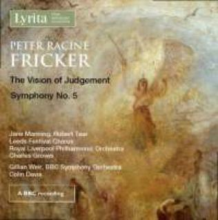 Fricker, Peter Racine: The Vision Of Judgement & Symphony No. 5 - Davis, Colin